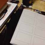 税込み100円を残りのMUJI GIFT200円で衝動2冊買いした4コマノート・ミニ。何に使おう。…